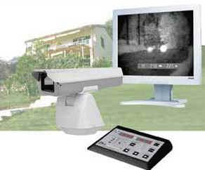 Стационарная телевизионная система обнаружения оптических объектов и круглосуточного видения Антинаблюдатель