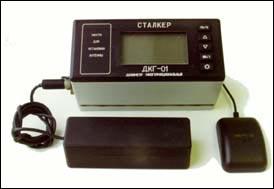 GPS-система для мониторинга радиационной обстановки ДКГ01 Сталкер.