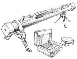 Прибор для измерения скорости полета снарядов артиллерийского оружия Regula 6002