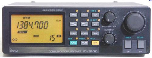 Сканирующий приемник ICR - 100