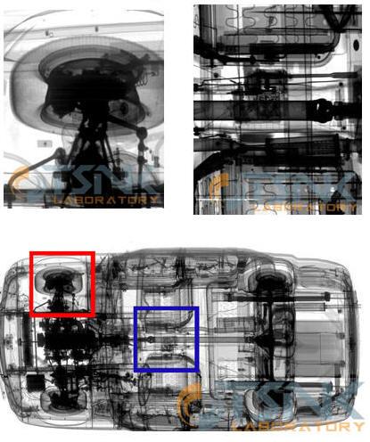Инспекционно-досмотровый рентгеновский комплекс для досмотра автомобилей Портал-Авто