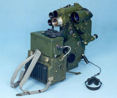 "Portable laser device for optical-electronic countermeasures ""PAPV"""