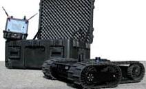 Пуленепробиваемый робот технической разведки.
