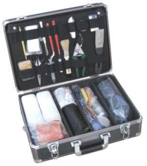 Унифицированный криминалистический чемодан для изъятия объёмных следов