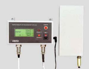 Пороговый двухканальный сигнализатор ионизирующего излучения НПС-3.2