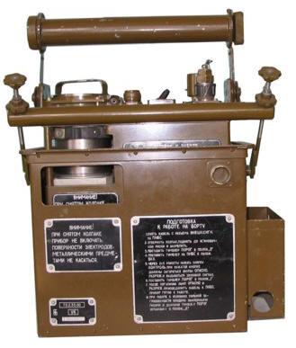 Общевойсковой автоматический газосигнализатор ГСА-1