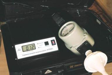 Радиометр дочерних продуктов радона АТЛЕШ