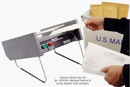 Детектор почтовых отправлений со взрывным устройством LW101W