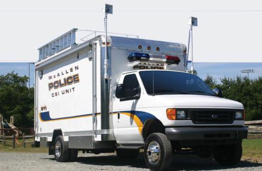 Передвижная криминалистическая лаборатория модель MCL-900