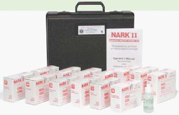 Система для идентификации наркотических веществ SIRCHIE NARK II