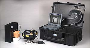 Портативная компьютерная рентгеновская досмотровая система FoxRayII