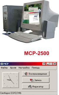 Профессиональный малоканальный комплекс регистрации сигналов МСР-2500