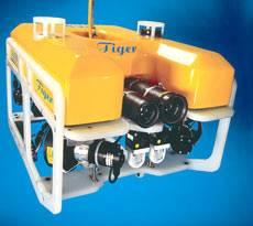 Малогабаритный телеуправляемый подводный аппарат среднего класса TIGER
